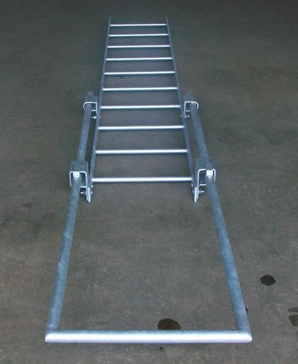 Components Of The Modular Design Access Ladders