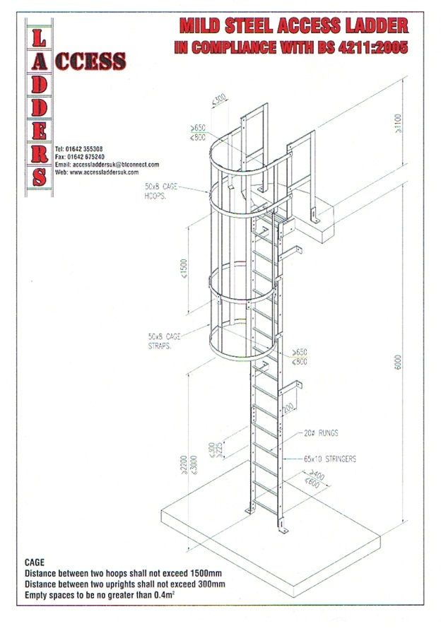 Bs4211 Access Ladders